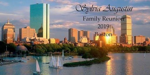 Sylvia Augustin Family Reunion