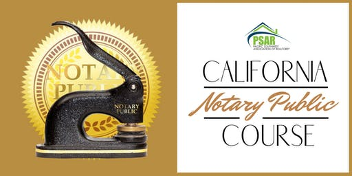 California Public Notary Course