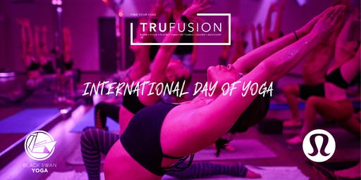 TruFusion + Lululemon - International Day of Yoga