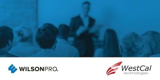 WilsonPro Certified Installer Training (July 16th) - WESTCAL TECHNOLOGIES