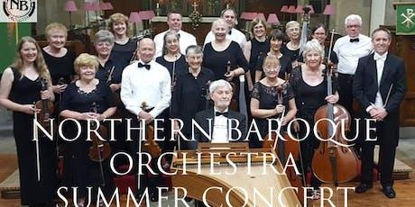 Northern Baroque Orchestra Summer Concert tickets