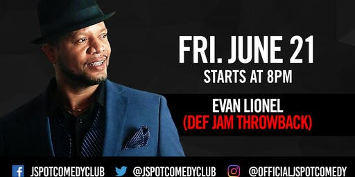 The Def Comedy Jam Throwback hosted by Evan Lionel & Friends