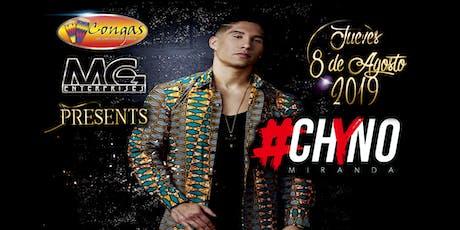 Chyno Miranda @ Congas tickets