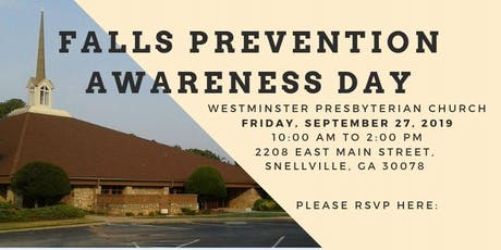 FALLS PREVENTION AWARENESS DAY tickets