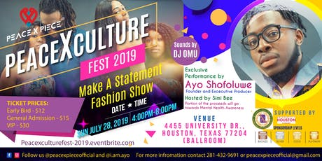 PeaceXCulture Fest 2019 tickets