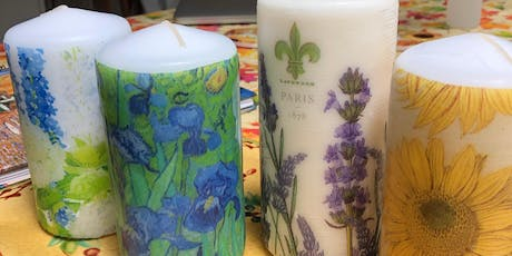 Decorative Candles Class - Thursday 8/22 - West Chester PA tickets