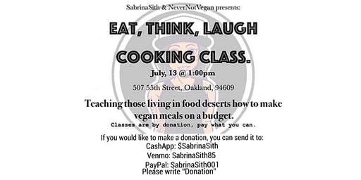 Eat, Think, Laugh cooking class