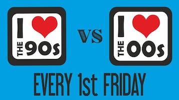 I love the 90s vs 00s