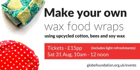 Make your own wax food wraps tickets