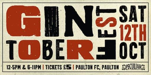 Gintoberfest @ Paulton Rovers