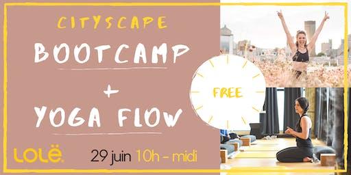 Cityscape Bootcamp + Yoga Flow // *free/gratuit*