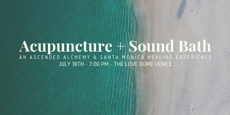 Acupuncture + Sound Bath tickets