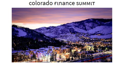 2019 Colorado Finance Summit Submission