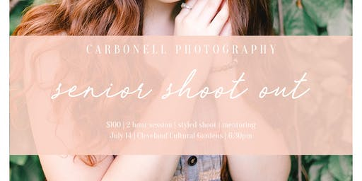Senior Shoot Out + Mentoring with Carbonell Photography