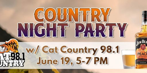 Country Night Party with CAT COUNTRY 98.1