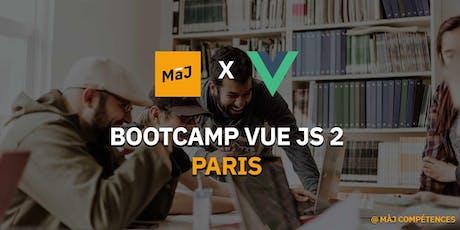 BOOTCAMP VUE JS PARIS #1 - 5 JOURS INTENSIF tickets