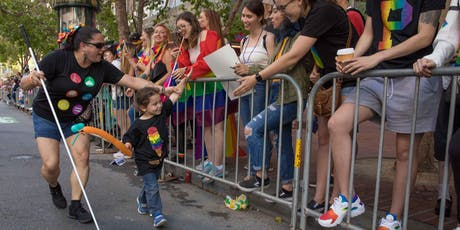 "PRIDE 2019: PAN-DISABLED CONTINGENT ""BE SEEN"" tickets"