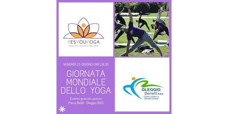 International Yoga Day biglietti