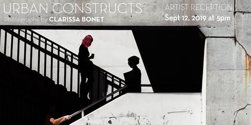 Urban Constructs Lecture  & Reception with Clarissa Bonet