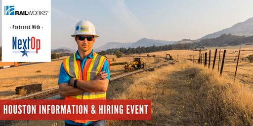 RailWorks Information & Hiring Event Houston, Texas
