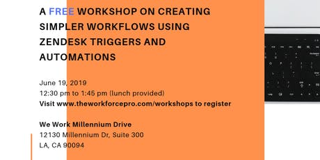 FREE Workshop for Zendesk Users tickets