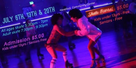 Havelock Lions Pop-up Roller Rink tickets