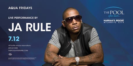 Ja Rule at The Pool After Dark - Aqua Fridays FREE Guestlist tickets
