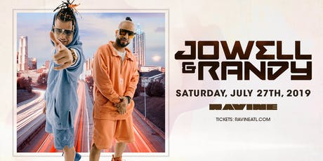Jowell y Randy - Ravine Atlanta tickets