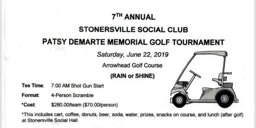 7th Annual Stonerville Social Club Golf Tournament