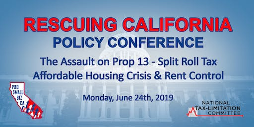 RESCUING CALIFORNIA POLICY CONFERENCE