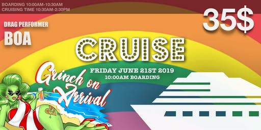 CRUISE: Pride Boat Party