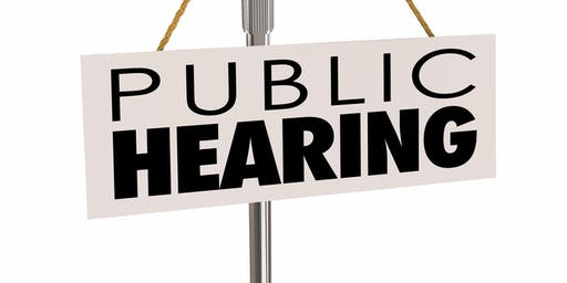 Public Hearing, DC DHCD's FY20 Annual Action Plan