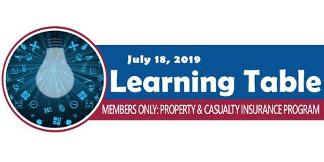 Learning Table: Members Only Property & Casualty Insurance Program tickets