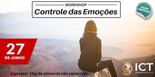 Workshop - Controle das Emoções