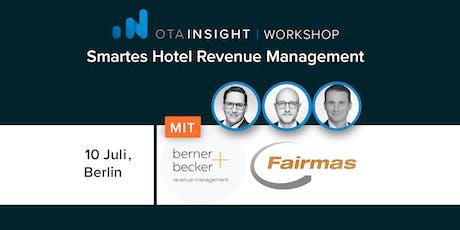 Smartes Hotel Revenue Management tickets