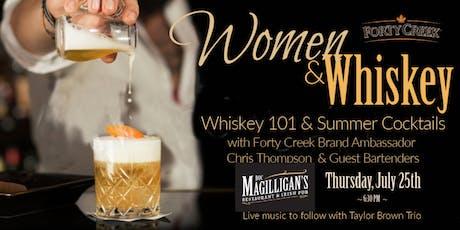 Women & Whiskey 101 & Summer Cocktails  tickets