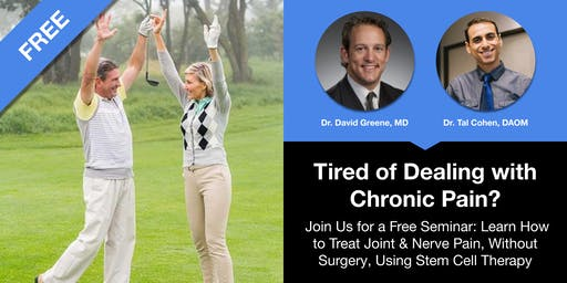 How to Treat Joint & Nerve Pain, Without Surgery, Using Stem Cell Therapy