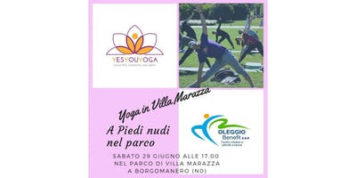 Yoga in Villa Marazza