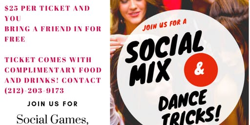 Social Mix & Dance Tricks for Couples and Singles