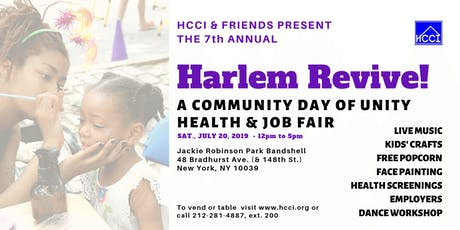 HARLEM REVIVE! Community Day of Unity tickets