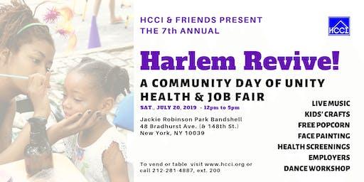 HARLEM REVIVE! Community Day of Unity