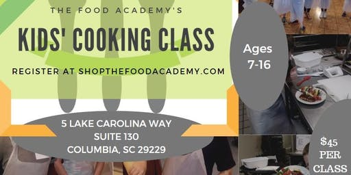 The Food Academy's Kids Cooking Class