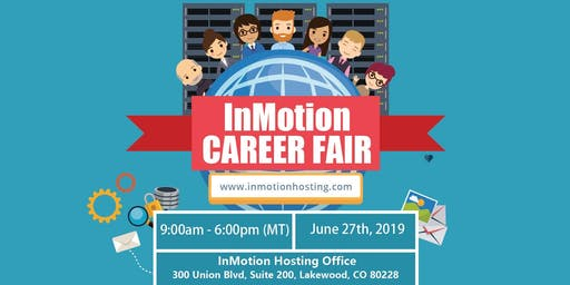 InMotion Hosting Career Fair