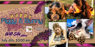 Happy Piggy & Bunny Yoga: Wild Side Edition at Sneaky Pete's