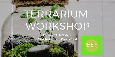 Terrarium Workshop with The Bottle Gardener: Jar Terrariums