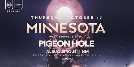 Minnesota N. American Tour feat Pigeon Hole (Albuquerque,NM) tickets
