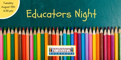 Educator's Night 2019
