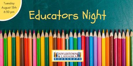 Educator's Night 2019 tickets