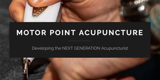 Motor Point Acupuncture- Core Essentials (Richard Hazel)