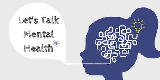 Let's Talk Mental Health: A Workshop Series for Women.